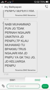 screenshot-sms-ari-balikpapan